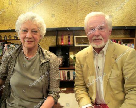 Dame Monica Mason and Derek Jacobi