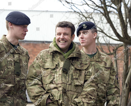 Editorial picture of Ben Nealon with TA Troopers at the Wyvern Theatre for Agatha Christie's 'Go Back To Murder' press call in Swindon, Britain - 19 Mar 2013