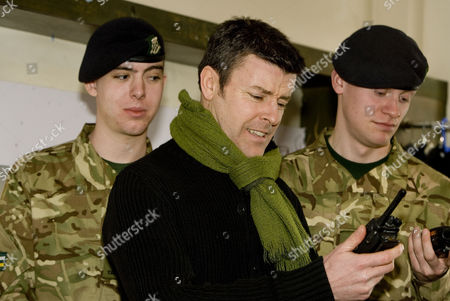 Editorial image of Ben Nealon with TA Troopers at the Wyvern Theatre for Agatha Christie's 'Go Back To Murder' press call in Swindon, Britain - 19 Mar 2013