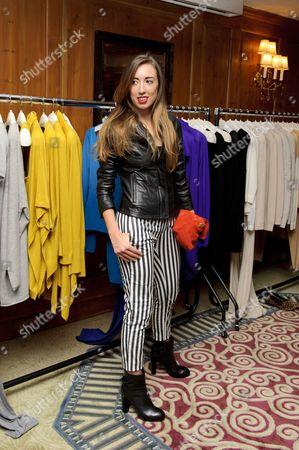 Editorial photo of Harley Moon-Kemp promoting 'Stefanel' fashion, London, Britain - 19 Mar 2013