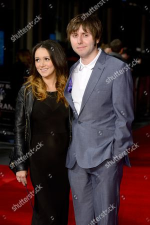 James Buckley with wife Clair Meek