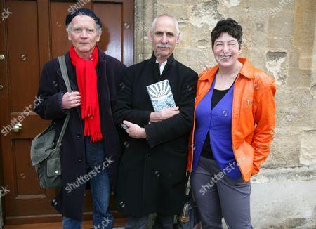 David Constantine, Jem Poster and Joanne Harris