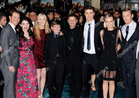 Guest, Stephenie Meyer, Saoirse Ronan, Chandler Canterbury, Andrew Niccol, Max Irons, Diane Kruger, Jake Abel