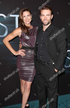 Monique Ganderton and Sam Hargrave