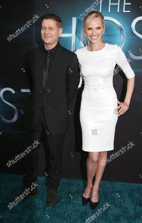 Andrew Niccol and Rachel Roberts
