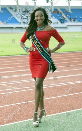 Miss Bahamas - Anastagia Pierre 23.