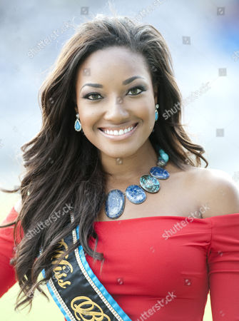 Stock Photo of Miss Bahamas - Anastagia Pierre 23.