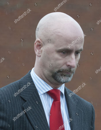 Ronnie Thom Formerly Sgt Thom Of The Colchester Military Correctivetraining Centre Pictured Leaving A Court Martial Where He Was Accused Of Being A Sexual Predator Who Abused His Position As Army Gaoler To Make Untoward Advances On Women. See Andrew Levy Story.