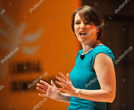 Kirsty Williams. Liberal Democrats Conference. Lib Dem Spring Conference At The Sage Gateshead Tyne And Wear.-lib Dem Welsh Assembly Member Kirsty Williams Speaks To Party Delegates At A Party Rally At The Sage Concert Hall.