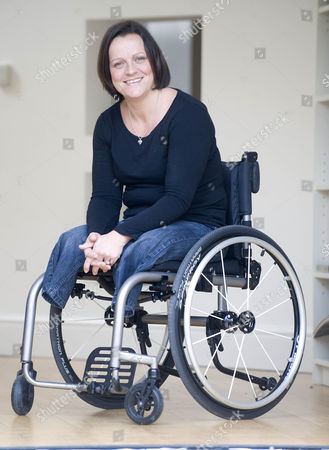 Editorial picture of Martine Wiltshire Who Was Involved In 7/7 In London And Lost Both Of Her Legs. She Is Now Taking Part In The Paraplegic Olympics In London Playing Volleyball.