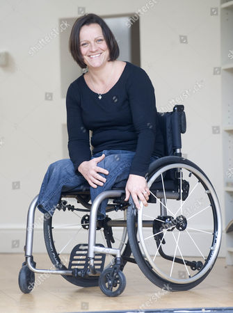 Martine Wiltshire Who Was Involved In 7/7 In London And Lost Both Of Her Legs. She Is Now Taking Part In The Paraplegic Olympics In London Playing Volleyball.