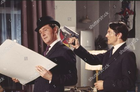 Patrick Macnee and Colin Jeavons