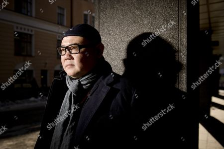 Editorial photo of Cai Shangjun in Helsinki, Finland - 15 Mar 2013
