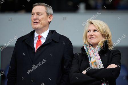 Sunderland owner Ellis Short and wife Eve