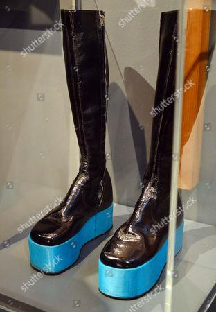 Platform boots, 1971, by  Kansai Yamamoto