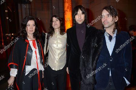 Katy England, Bella Freud, Bobby Gillespie and Alistair Mackie