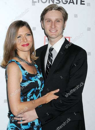 Connie Fletcher and Aaron Staton