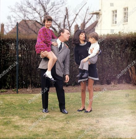 Matt Monro with wife Mickie and daughter Michele and son Matthew
