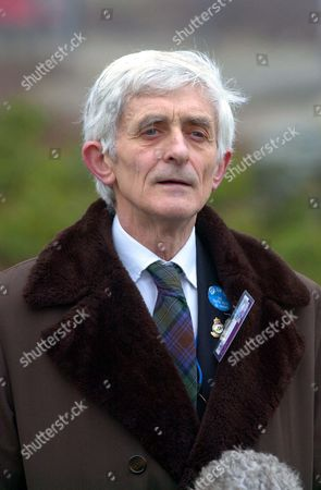 Lockerbie Verdict Day. Dr Jim Swire Talks To The Press After The Verdict Is Given. Jim Swire Lost His Daughter Flora In The Bombing And Has Devoted Practically Every Walking Moment Over The Last 12 Years To His Search For The Truth About Lockerbie. Abdelbaset Al-megrahi 48 Was Convicted Of Planting The Device On The Pan Am Flight 103 12 Years Ago And Sentenced To At Least 20 Years.
