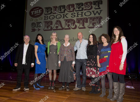 Tony Robinson, Liz Pichon, Lauren Child, Shirley Hughes, Guy Parker-Rees, Cathy Cassidy, Francesca Simon and Rachel Bright
