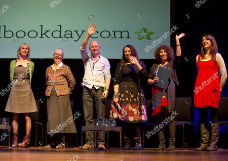 Lauren Child, Shirley Hughes, Guy Parker-Rees, Cathy Cassidy Francesca Simon and Rachel Bright