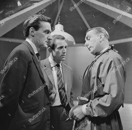 Stock Image of Patrick Macnee, Ian Hendry and Cyril Renison