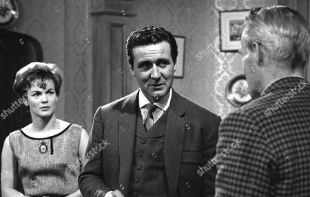 Moira Redmond, Patrick Macnee and Ian Colin