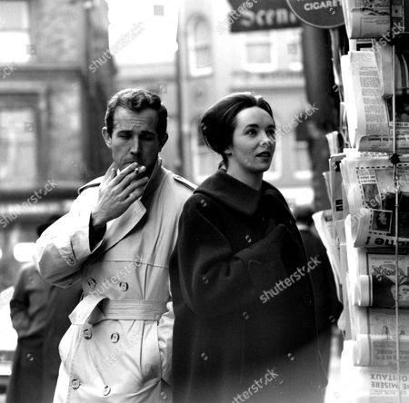 Ian Hendry and Ingrid Hafner