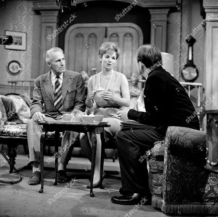 Ian Colin, Moira Redmond and Peter Barkworth