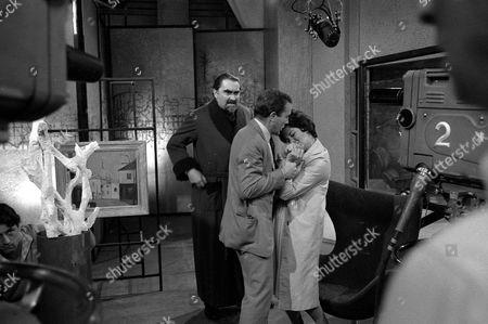 Katharine Blake, Ian Hendry and Francis De Wolff