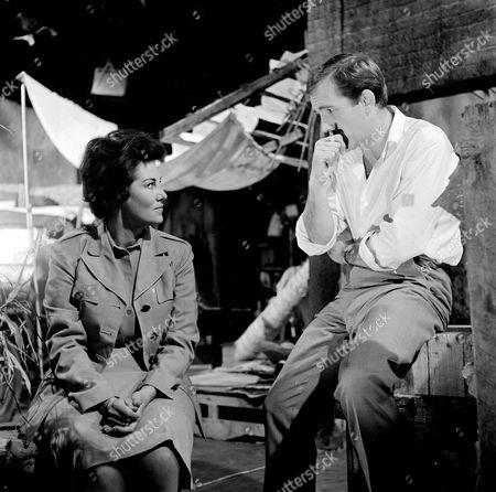 Katharine Blake and Ian Hendry