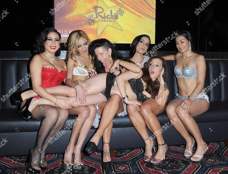 Tabitha Stevens and Ricks Cabaret Girls