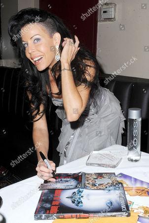 Editorial photo of Tabitha Stevens Receives Sexiest Podcast Award at Ricks Cabaret, New York, America - 19 Mar 2013