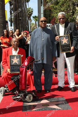 Editorial photo of The Funk Brothers honored with Star on the Hollywood Walk of Fame, Los Angeles, America - 21 Mar 2013