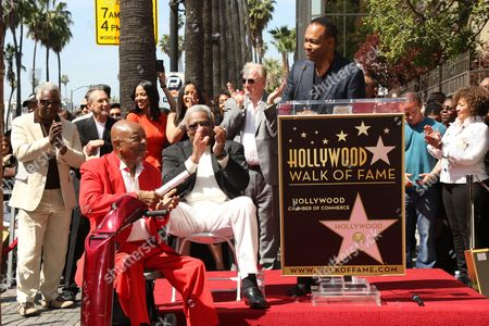 Editorial picture of The Funk Brothers honored with Star on the Hollywood Walk of Fame, Los Angeles, America - 21 Mar 2013