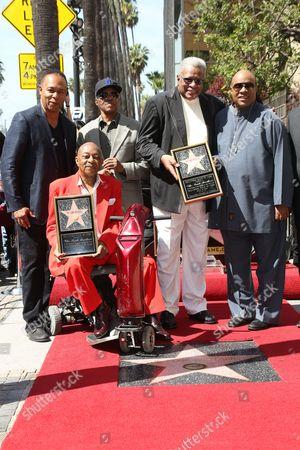 Ray Parker Jr., Jack Ashford, Eddie Willis and Stevie Wonder