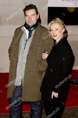 Brendan Coyle and Joy Harrison