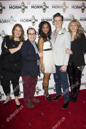 Editorial photo of 'The Book of Mormon' musical opening night after party, London, Britain - 21 Mar 2013