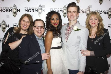 Editorial image of 'The Book of Mormon' musical opening night after party, London, Britain - 21 Mar 2013
