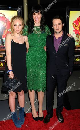 Stock Photo of Juno Temple, Ramaa Mosely and Michael Angarano