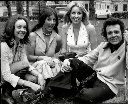 Artist And Comedian Paul Trevillion With Penthouse Pets L-r Tricia Wheeler Sheri Greenaway Susan Cannon Paul Trevillion (born 11 March 1934) Is A Highly Acclaimed British Comic/sports Artist Whose Career Spans Fifty Years. Born In Tottenham North London Trevillion Produced Artwork For Publications Like Eagle (comic) And Tv21 While Still At School. From The 1960s To The 1980s Trevillion Devised And Illustrated Pieces For Daily Mirror Daily Express The Sun The Daily Telegraph And The Times And In 2006 Revived His Cult Football Cartoon You Are The Ref - Made Famous By Football Magazine Shoot! In The 1970s - For The Observer. A Book Collecting 50 Years Of You Are The Ref Was Published In October 2006. From August 2008 You Are The Ref Appeared Online At Guardian.co.uk. Trevillion Who Spent Much Of The 1960s In The Us Working With Mark Mccormack At Img For Some Of The World's Biggest Brands Is The Author And Illustrator Of Over 20 Books Which Have Sold Worldwide. He Also Illustrated The Famous Gary Player Golf Class Which Appeared In Over 300 Newspapers Worldwide. He Has Met And Drawn Some Of Sport's Biggest Names Including Pelcc Bobby Moore George Best Franz Beckenbauer Jack Nicklaus Tiger Woods Michael Jordan Sugar Ray Robinson And Oscar De La Hoya. As A Young Man He Also Met And Drew British Prime Minister Winston Churchill. Trevillion's Career Away From His Art Has Been Rich And At Times Bizarre. He Worked As A Stand-up Comedian Supporting The Likes Of Norman Wisdom And Bob Monkhouse Had A Record Deal Was Crowned World Speed-kissing Champion And Invented A Split-handed Golf Putting Technique.[1] He Was Also The Inspiration Behind An Attempt To Boost Leeds United's Image In The 1970s. Hired By Don Revie In 1972 His Ideas Included Wearing Numbered Sock Tags (which Were Subsequently Thrown Into The Crowd As Souvenirs) And Synchronised Warm-ups.[1] In 2008 Trevillion Was Interviewed In The Award-winning Documentary Roy About The Life.