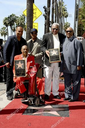 Ray Parker Jr., Eddie Willis, Jack Ashford and Stevie Wonder
