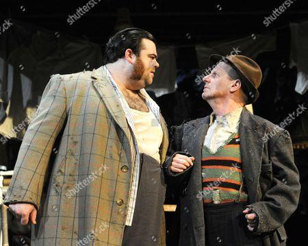 Dean Nolan as Harold, Mike Shepherd as Albert