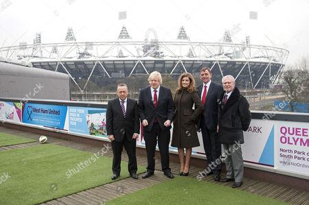 David Sullivan, Boris Johnson, Karren Brady, Sir Sir Robin Andrew Wales, David Gold