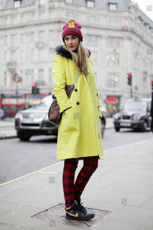 Editorial image of Street Style, London, Britain - 22 Mar 2013
