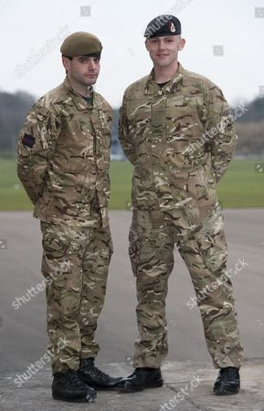 Captain John Scarlett, Coldstrean Guards, and Lance Corporal Stephen Shaw, Royal Army Medical Corps, Military Cross