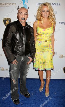 Stock Image of Jesus Villa, Pamela Anderson