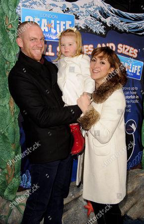 Natalie Cassidy boyfriend Adam Cottrell and daughter Eliza