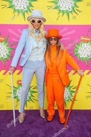 Editorial image of Nickelodeon's 26th Annual Kids Choice Awards Arrivals, Los Angeles, America - 23 Mar 2013