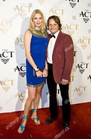 Stock Photo of Jodie Kidd and Andrea Vianini